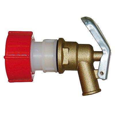 Messing-Auslaufhahn - Gewinde 3/4 - NW 12 mm
