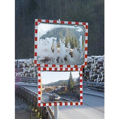 MORAVIA Außenspiegel ICE FREE - Edelstahl, beschlags- / vereisungsfrei