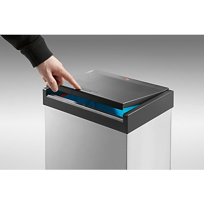 Hailo Touch-Abfallbox - Inhalt 60 l
