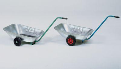Transportwanne - Vollgummiräder 200 x 50 mm, Stahlblech verzinkt