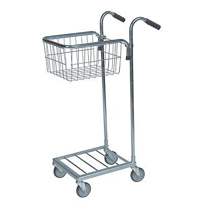 Kongamek Kleintransportwagen - 1 Korb, Tragfähigkeit 35 kg