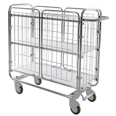 Kongamek Gittertüren - 1 Paar, für Etagenwagen mit 4 Böden, für Breite 1195 mm