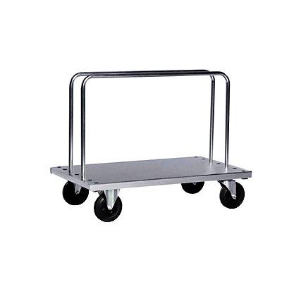 Kongamek Verzinkter Schwerlast-Bügelwagen - inkl. 2 Bügel, LxBxH 1250 x 700 x 945 mm, Tragfähigkeit 500 kg