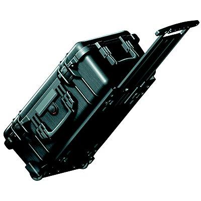 PELI Hartschalenkoffer - Inhalt 28,6 l, mit Rollen und Handgriff