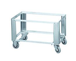 ZARGES Alu-Untersetzwagen W152 - für Aluminium-Kiste