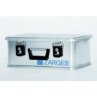 ZARGES Alu-Box MINI XS - Inhalt 24 l, Innen-LxBxH 450 x 290 x 180 mm