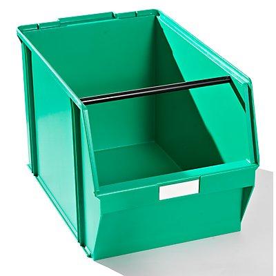 Plastipol-Scheu Sichtlagerkasten aus Polystyrol - Außen- / Innenlänge 500 / 450 mm