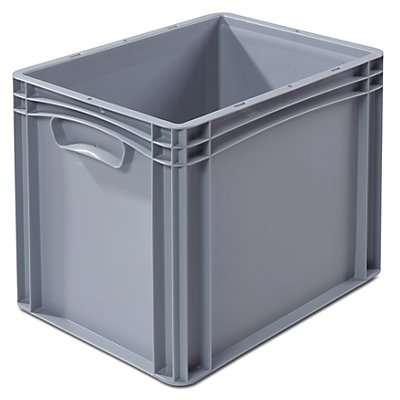 VECTURA Euronorm-Behälter - LxB 400 x 300 mm, Wände und Boden geschlossen