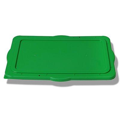 JOPA Stapeldeckel für Kunststoffmulde - aus Polyethylen, fest schließend