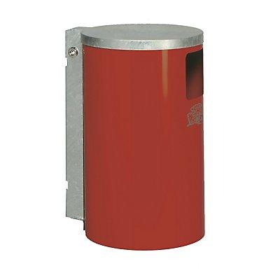 VAR Außen-Abfallsammler - aus Stahlblech, Inhalt 30 l