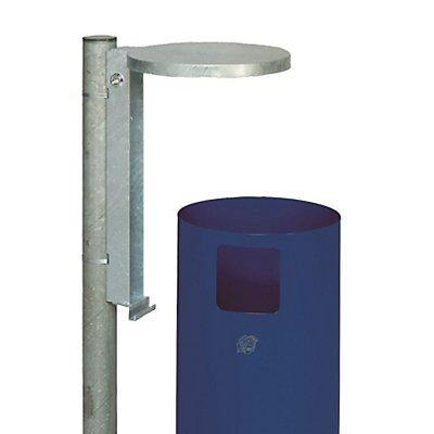 VAR Stahlrohrpfosten - Länge 1450 mm, verzinkt
