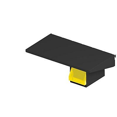 AXELENT Boxhalterung QUICK ON - HxBxT 153 x 154 x 231 mm - tiefschwarz