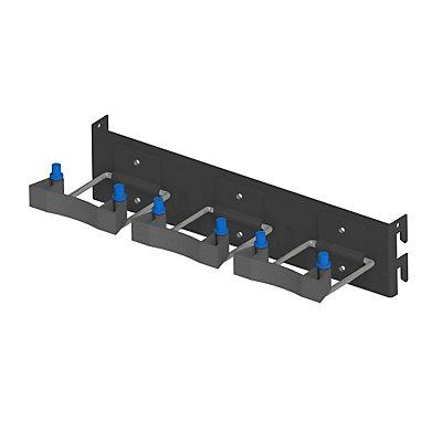 AXELENT Werkzeughalterung QUCIK ON - HxBxT 65 x 294 x 100 mm - tiefschwarz