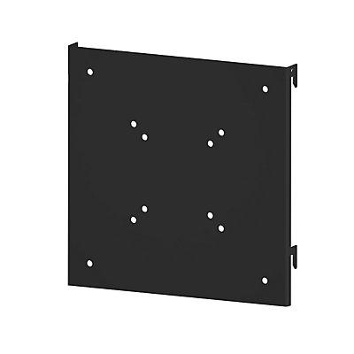 AXELENT Flatscreen-Halterung QUICK ON - BxH 252 x 250 mm, tiefschwarz