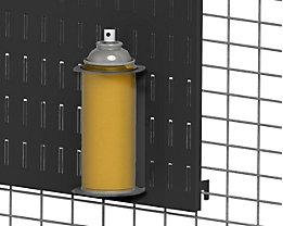 AXELENT Dosenhalterung QUICK ON - BxH 85 x 150 mm - tiefschwarz