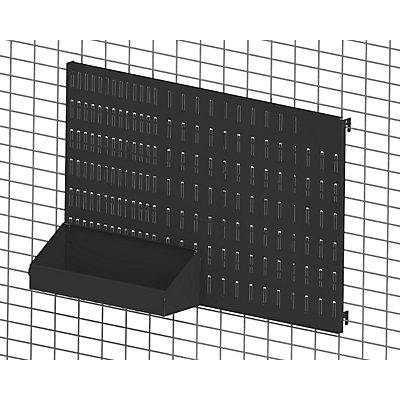 Axelent Universalbox QUICK ON - LxBxH 293 x 100 x 99 mm - tiefschwarz