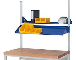 RAU Metallablage - Tragkraft 30 kg, für Feldbreite 1250 mm