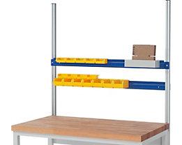 RAU Halteschiene - für Sichtlagerkasten, für Feldbreite 1250 mm