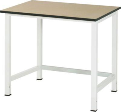 RAU Werktisch, höhenverstellbar - MDF-Platte