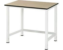 RAU Werktisch, höhenverstellbar - MDF-Platte, Breite 1000 mm