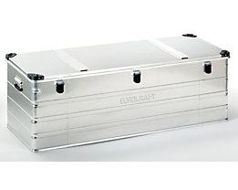 EUROKRAFT Aluminiumbehälter mit Stapelecken - Inhalt 400 l