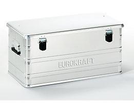 EUROKRAFT Aluminiumbehälter ohne Stapelecken - Inhalt 91 l