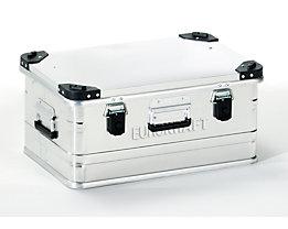 EUROKRAFT Aluminiumbehälter mit Stapelecken - Inhalt 47 l