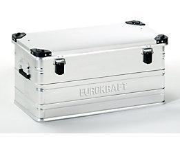 EUROKRAFT Aluminiumbehälter mit Stapelecken - Inhalt 91 l