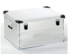 EUROKRAFT Aluminiumbehälter mit Stapelecken - Inhalt 157 l