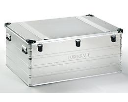 EUROKRAFT Aluminiumbehälter mit Stapelecken - Inhalt 415 l