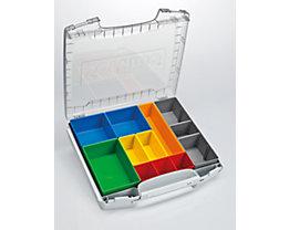 L-BOXX Sortimentskoffer mit Einsatzkästen - für Koffer-Klick-System, VE 3 Stk