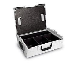 Koffer-Klick-System - L-Boxx 136 mit Deckeleinlage und 4 Muldeneinleger