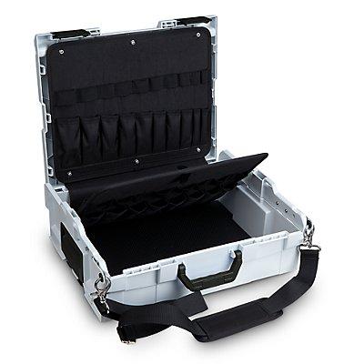 L-BOXX Koffer-Klick-System - L-Boxx 136 mit Werkzeugkarte und Tragegurt, BxTxH 442 x 357 x 151 mm