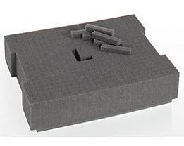 L-BOXX Rasterschaum - für Koffer, VE 3 Stk