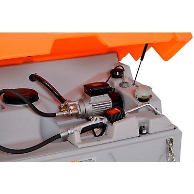 CEMO Schmierstofftank CUBE - mit Klappdeckel
