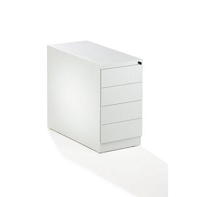 QUIPO Standcontainer, Stahl - 4 Materialschübe