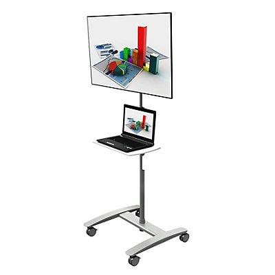 Dataflex Trolley VIEWMATE COMBO AV - für einen Monitor, silber