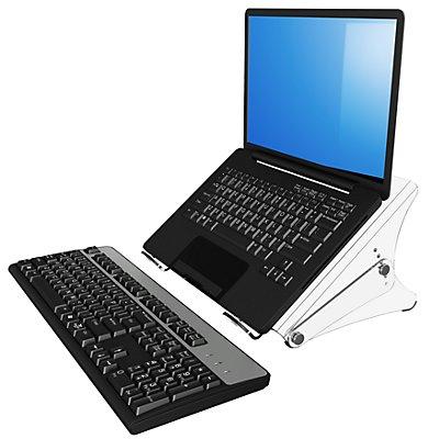 Dataflex Notebookständer ERGONOTE® - für Notebooks bis 15,4, Acryl transparent