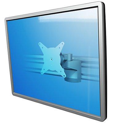 Dataflex Monitorarm VIEWLITE - für Schienensystem, silber / weiß