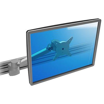 Dataflex Monitorarm VIEWLITE PLUS - für Schienensystem, silber / weiß