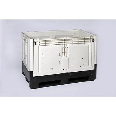 Capp Plast Smartbox, geschlossen - Inhalt 565 l, LxBxH 1200 x 800 x 805 mm