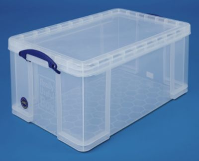 REALLY USEFUL BOX, inkl. Deckel - transparent, LxBxH 710 x 440 x 310