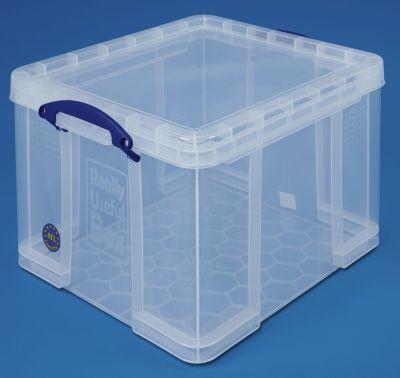 REALLY USEFUL BOX, inkl. Deckel - transparent, LxBxH 520 x 440 x 310