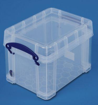 REALLY USEFUL BOX, inkl. Deckel - transparent, LxBxH 245 x 180 x 160