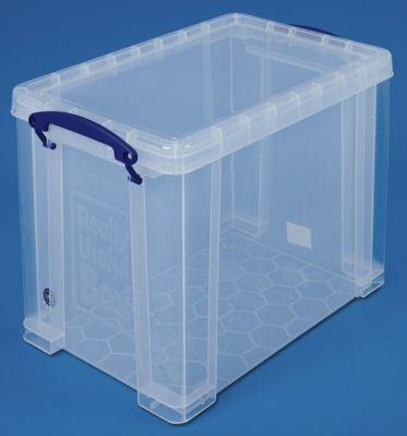 REALLY USEFUL BOX, inkl. Deckel - transparent, LxBxH 395 x 255 x 290