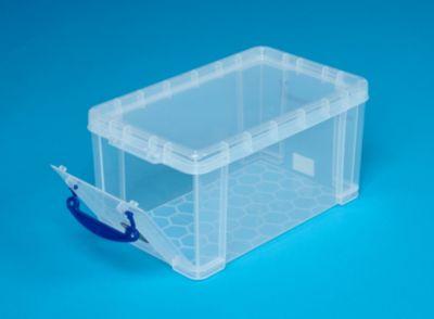 REALLY USEFUL BOX, inkl. Deckel - mit Frontklappe, LxBxH 340 x 200 x 175 mm