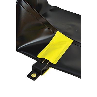 Justrite Faltwanne QuickBerm® Plus - mit Rigid-Lock, befahrbar