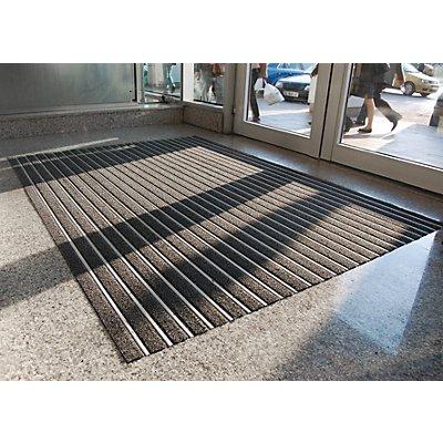 Tapis de propreté pour cadre aluminium - anthracite, découpe au mètre