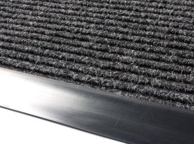 Schmutzfangmatte, gerippt - LxB 1200 x 900 mm