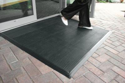 Sauberlaufsystem PVC - LxB 450 x 300 mm - schwarz